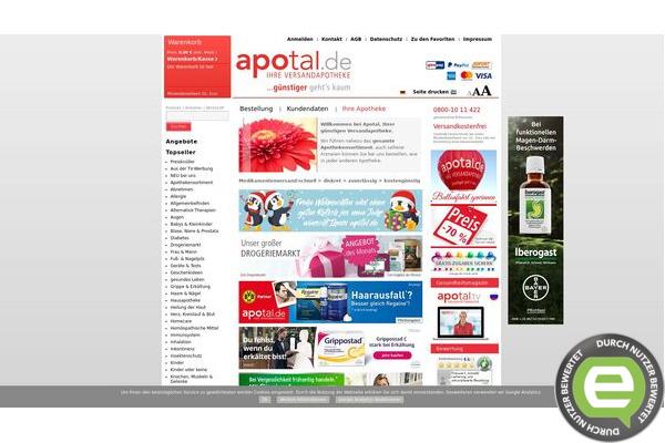 Apotal apotheke online
