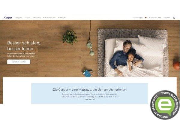 casper matrazen generell schlafe ich besser habe keine mehr und bin auch nach einem monat sehr. Black Bedroom Furniture Sets. Home Design Ideas