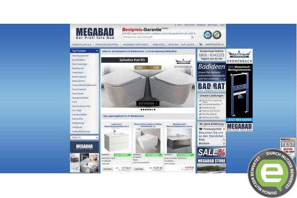 Erfahrungen mit megabad.com